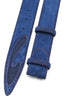 Silverado Ink Suede Denim Insert Belt Strap