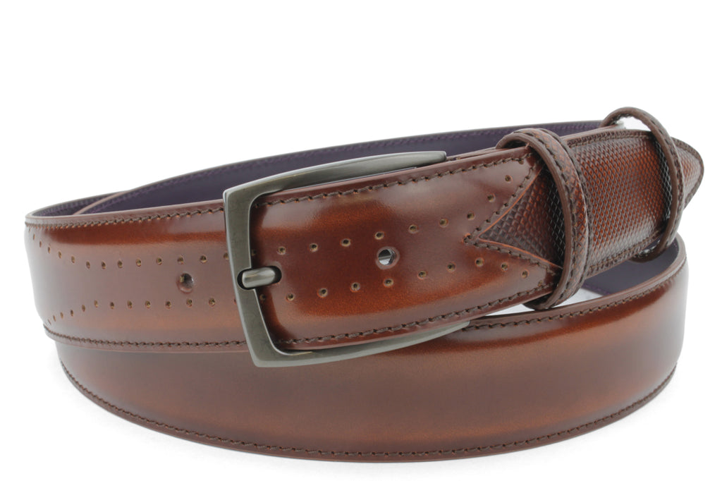 Belmondo Fudge Cordovan Belt