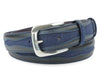 Jolson Navy Blue Denim Insert Belt