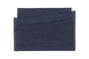 Twilight blue mock iguana Fulham card holder
