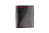 Black/Red burnished cordovan Soho Holland Park wallet