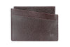 Burgundy mock iguana Fulham card holder