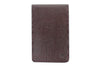 Burgundy mock iguana Mayfair travel card holder