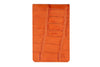 Zinnia Orange mock crocodile Mayfair travel card holder