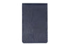 Twilight blue mock iguana Mayfair travel card holder