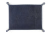 Twilight blue mock iguana occasional tray