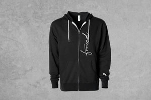 Focused Zipper Hoodie