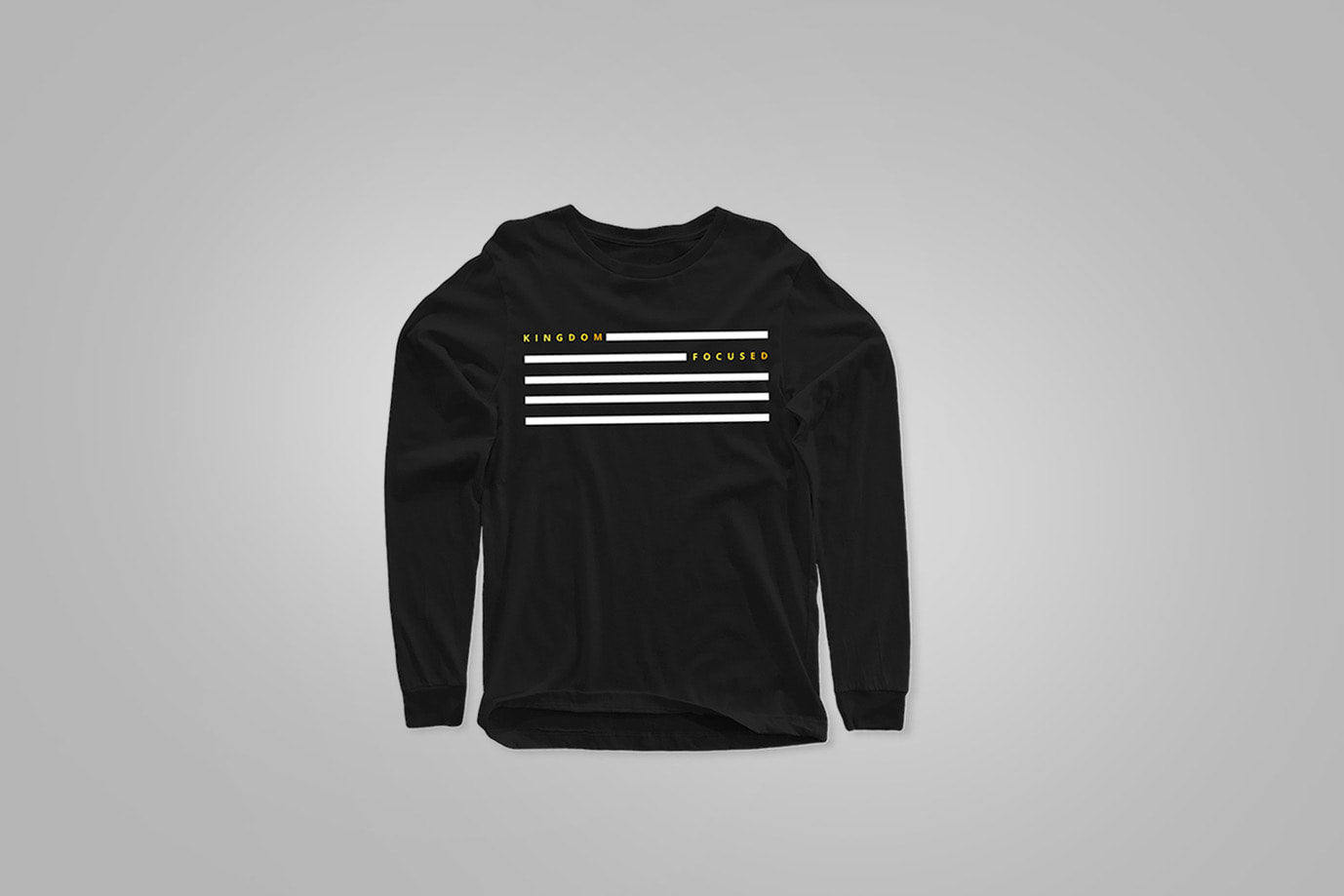 Long Sleeve Kingdom Focus Stripe