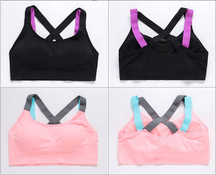 Push Up Yoga Sports Bra Full Cup