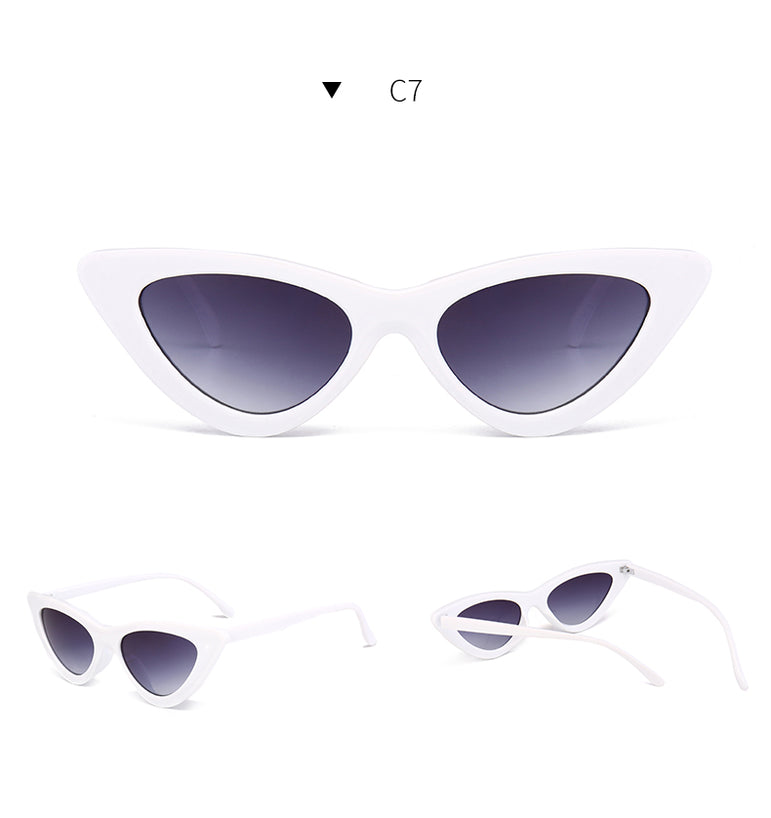 Cat Eye Small Size Frame Sunglasses