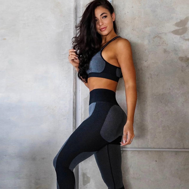 High Waist Elastic Fitness Legging