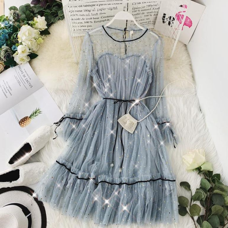 Elegant Lace up Princess Dress