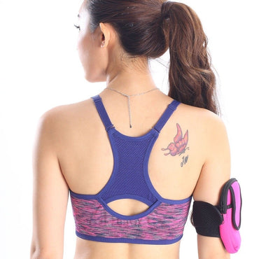 Pushing High Seamless Shockproof Yoga Bra