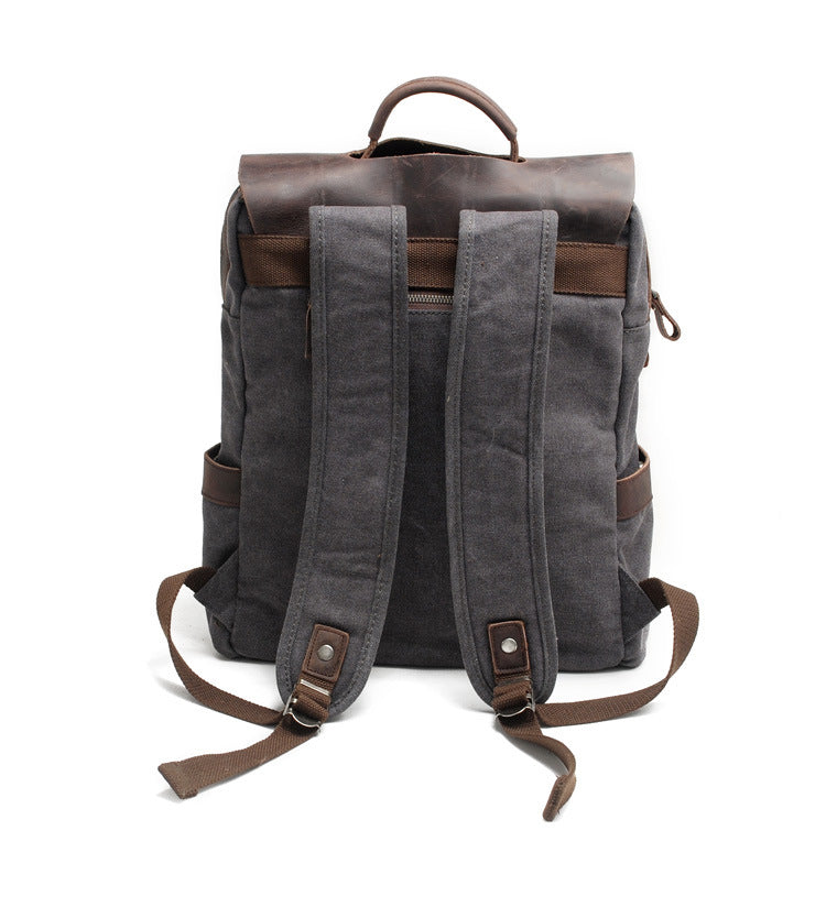 Vintage Canvas Multifunction Backpack