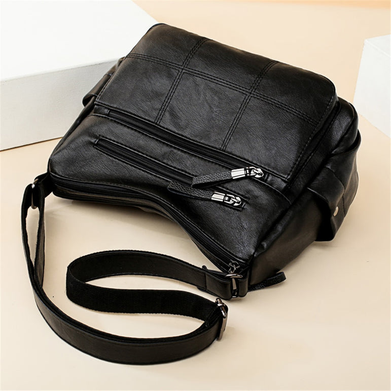 Luxury Soft Leather Crossbody  Hand Bags