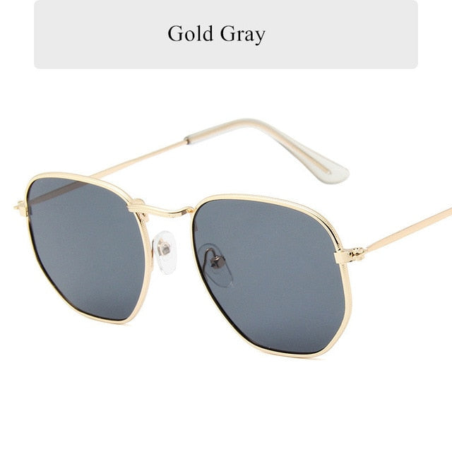 Luxury Vintage Polygon Sunglasses