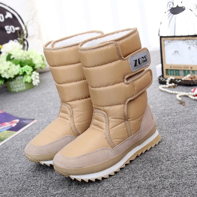 Waterproof Velvet Snow Warm Boot