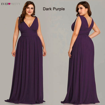 Elegant Ever Pretty Chiffon A line Dress