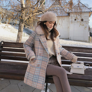 Elegant Winter Coat Warm Outerwear