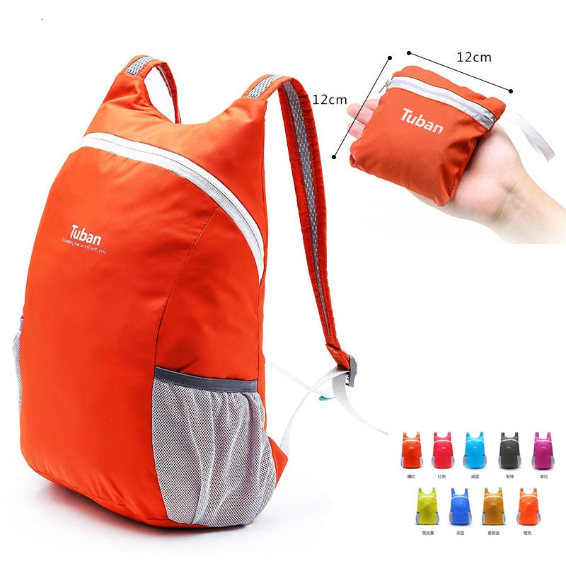 Lightweight Nylon Waterproof Backpack