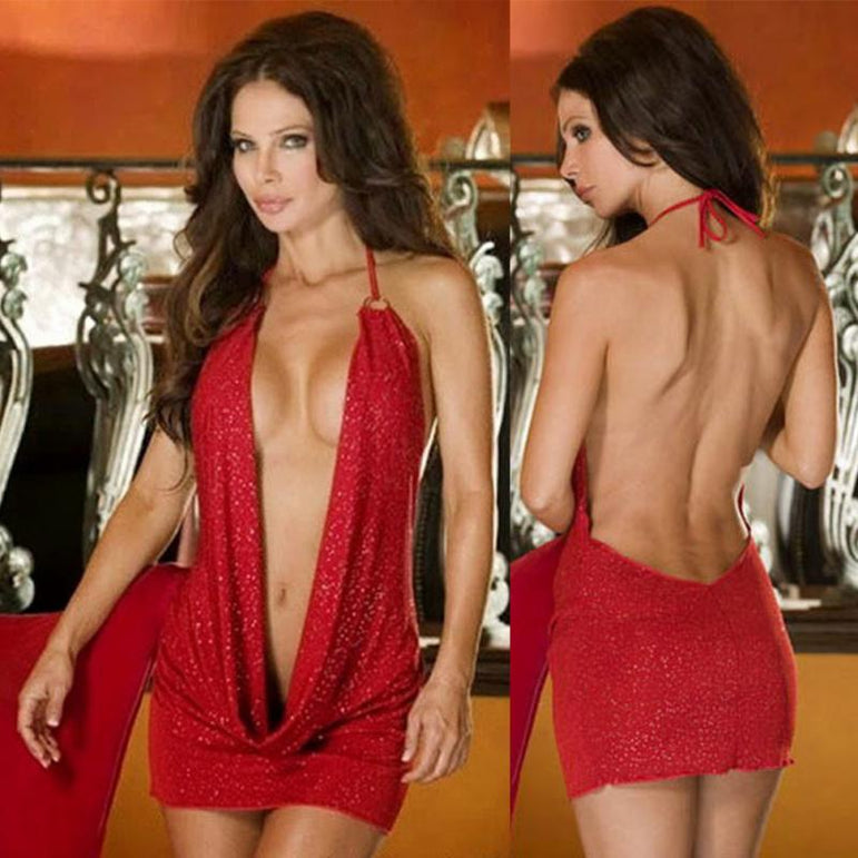 Sexy Night Club Mini Dress