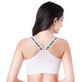 Push Up Letter Seamless Sports Bra