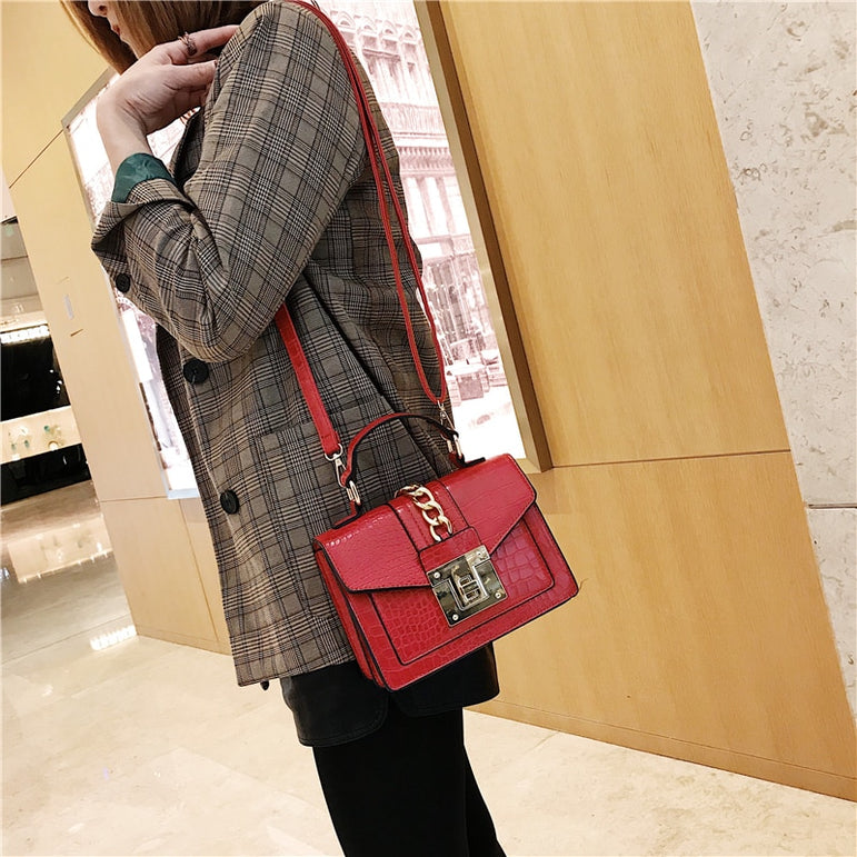 Luxury Shoulder Rivet Cross body Handbags
