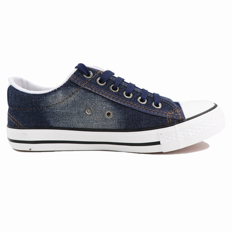 Canvas Denim Casual Sneakers