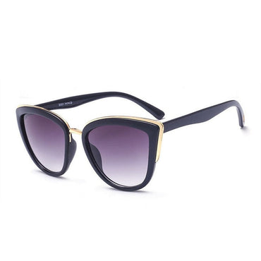 Luxury Cat Eye Retro Full Frame Sunglasses