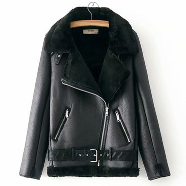 Warm Velvet Winter Jacket