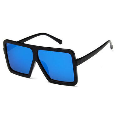 Square Big Box Retro Sunglasses
