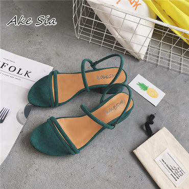 Ring Straps Flat Outdoor Sandals