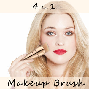 4 In 1 Makeup Brushes