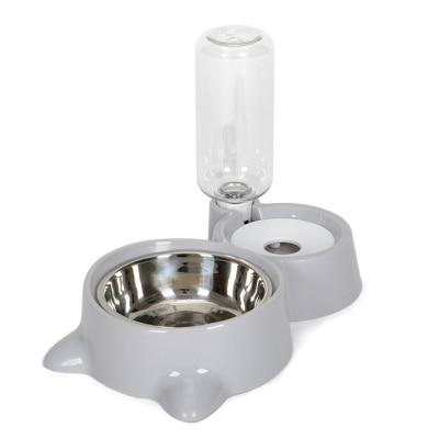 Cat Bowl Dog Water Feeder Bowl Cat Kitten Drinking Fountain Food Dish Pet Bowl Goods
