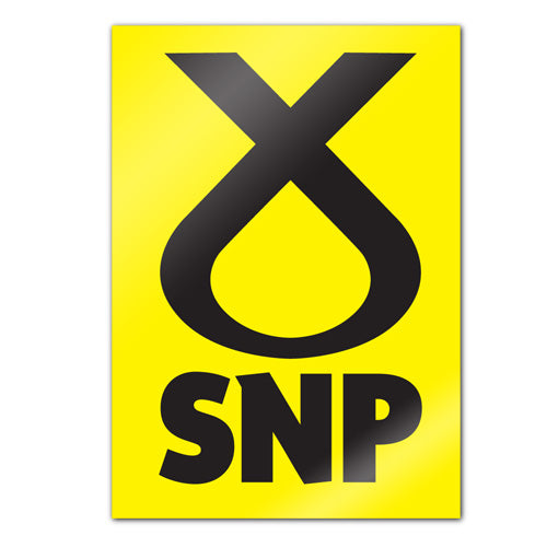 SNP A3 Campaign Poster