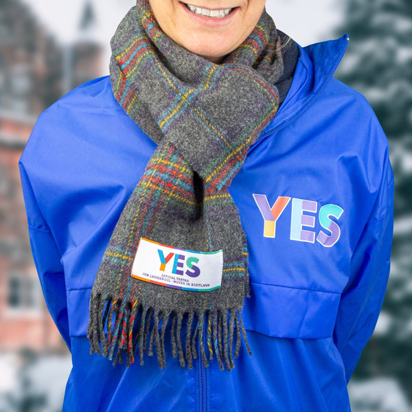 Official Yes Tartan Scarf