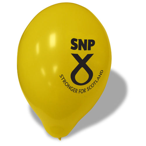 SNP Campaign Balloons (Pack of 100)