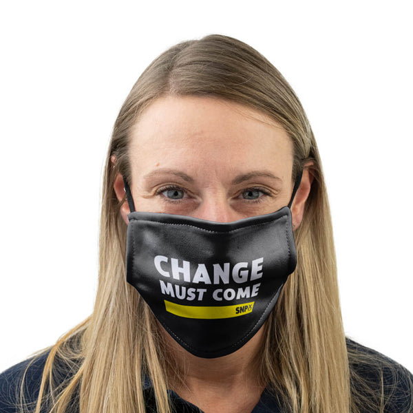 snp change must come face mask