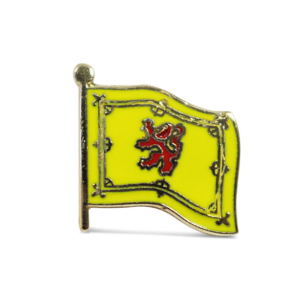 Lion Rampant Pin Badge