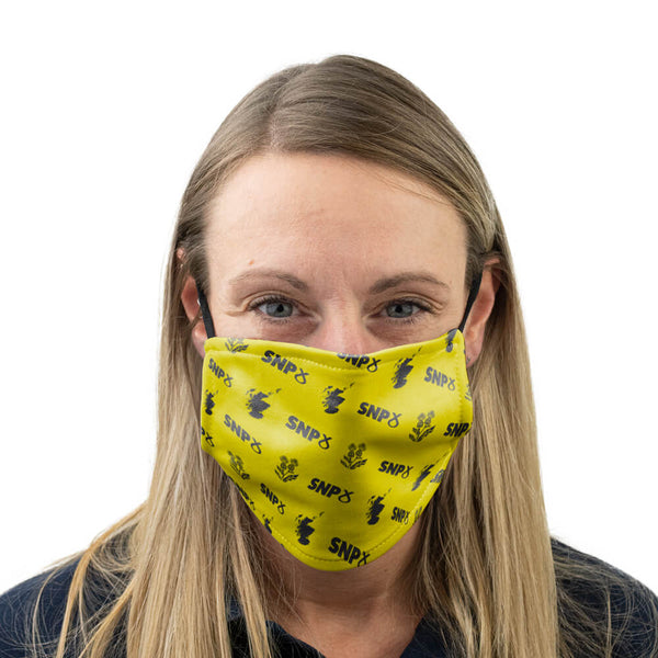 snp logo scotland face mask