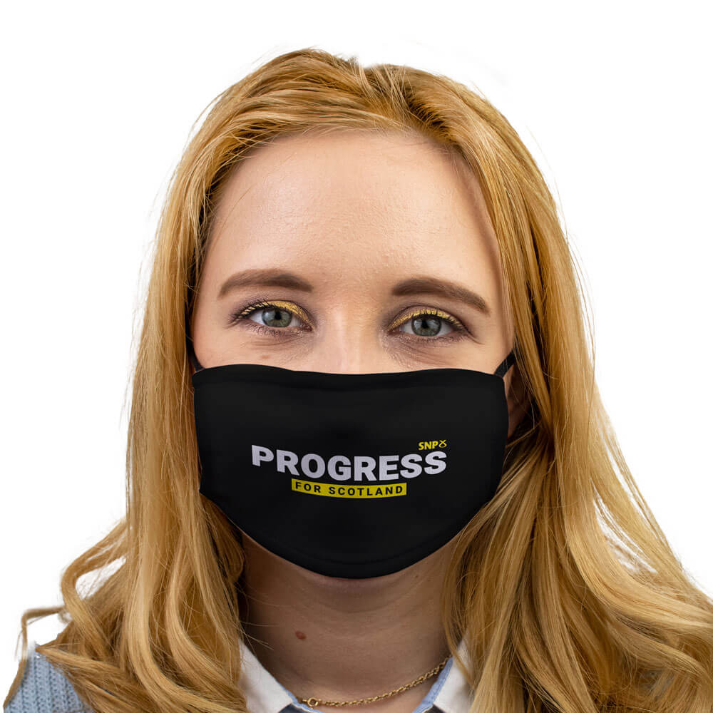 SNP progress face mask