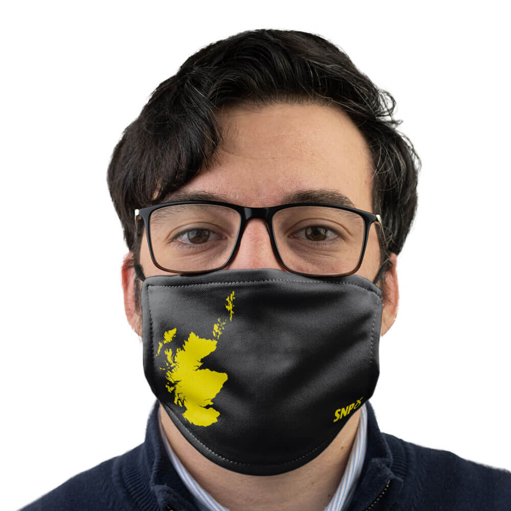 snp scotland face mask