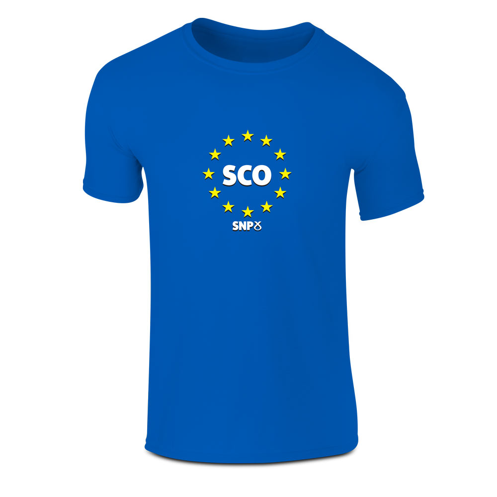 Scotland In Europe T-Shirt (MAP)
