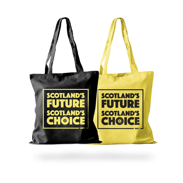 Cotton Shopper Scotlands Future SNP