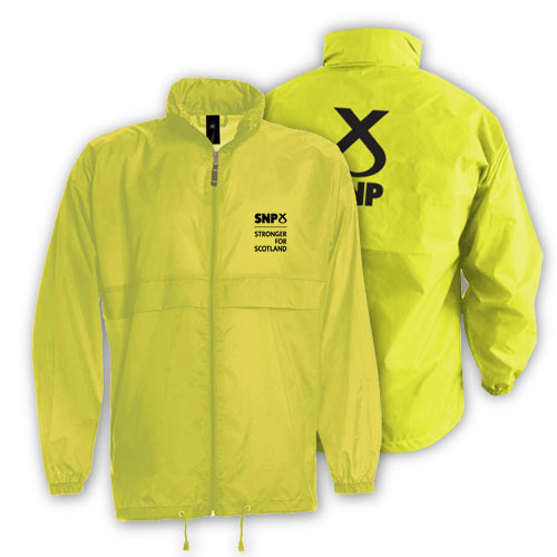 Men's Gold SNP Windcheater Jacket
