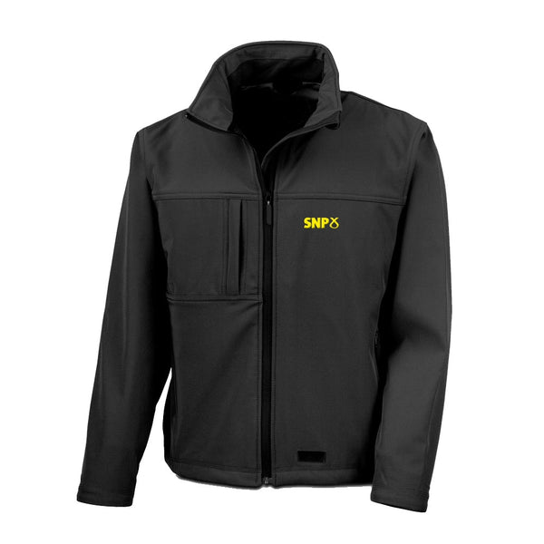 SNP Soft Shell Jacket - Black