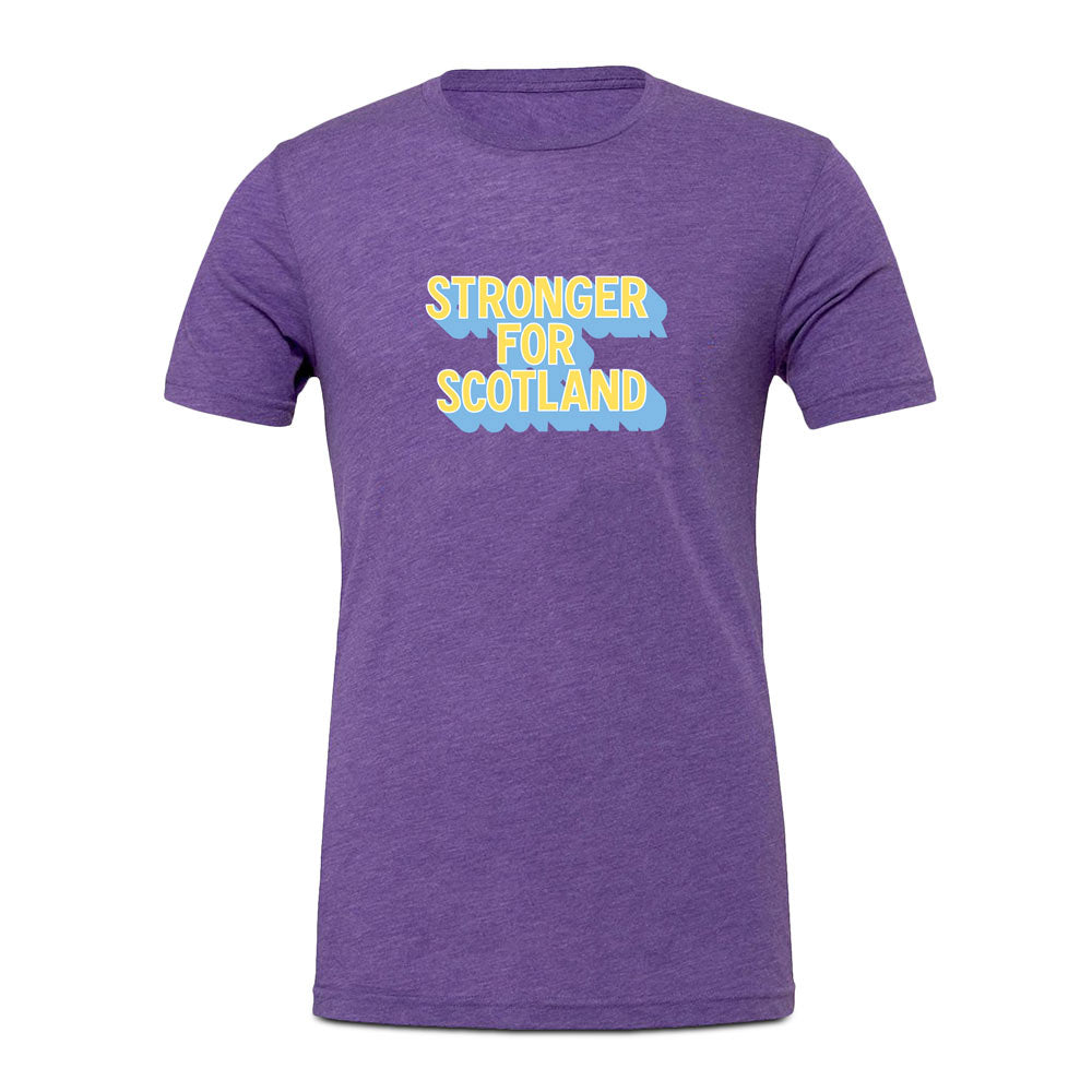 Stronger For Scotland T-Shirt by Rachel Millar