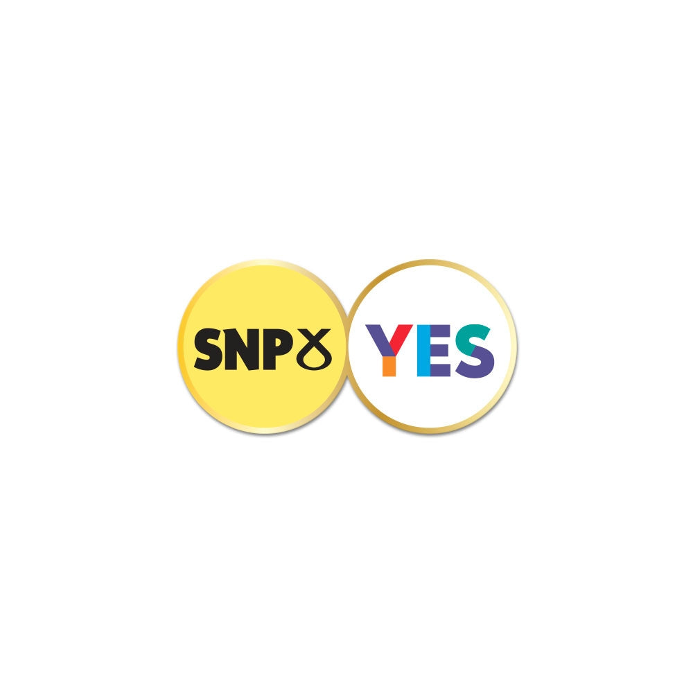 Yes SNP Pin Badge