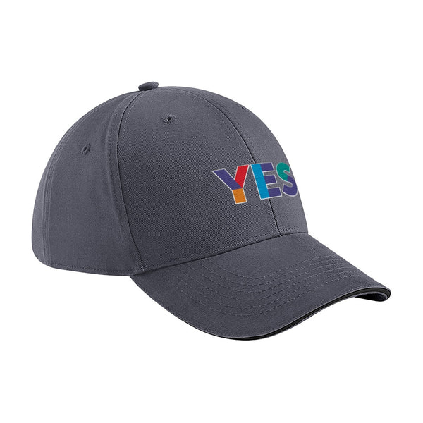 Yes Graphite Grey Baseball Cap