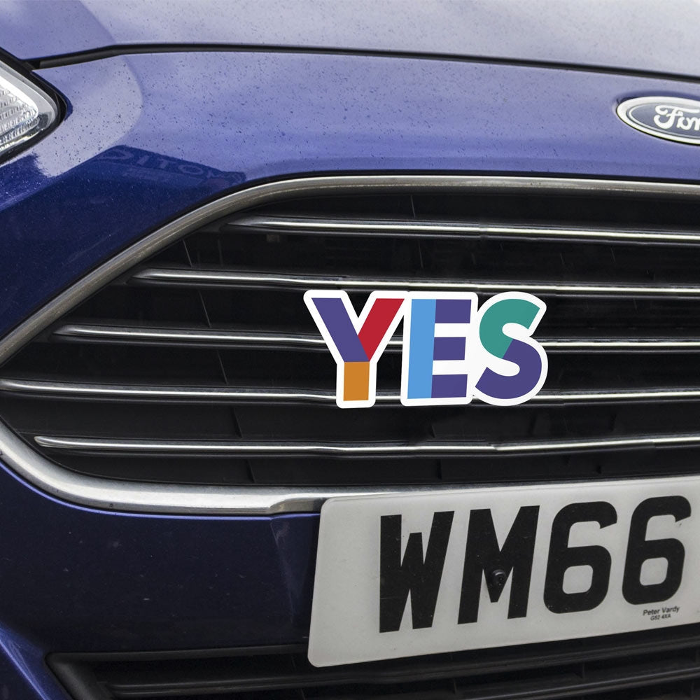 Yes Car Logo
